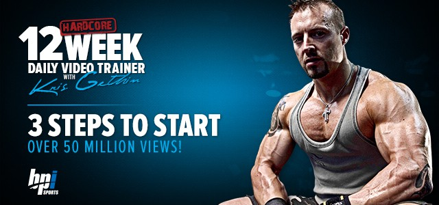 muscle building program from Kris Gethin