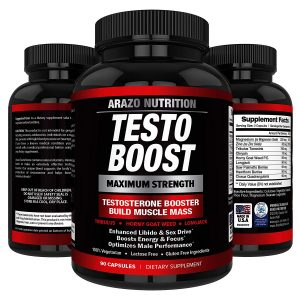 Arazo Nutrition TestoBoost Pro testosterone booster