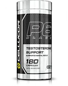 P6 Extreme Black test booster from Cellucor