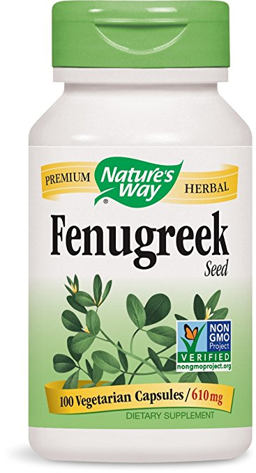 610mg capsules of Fenugreek