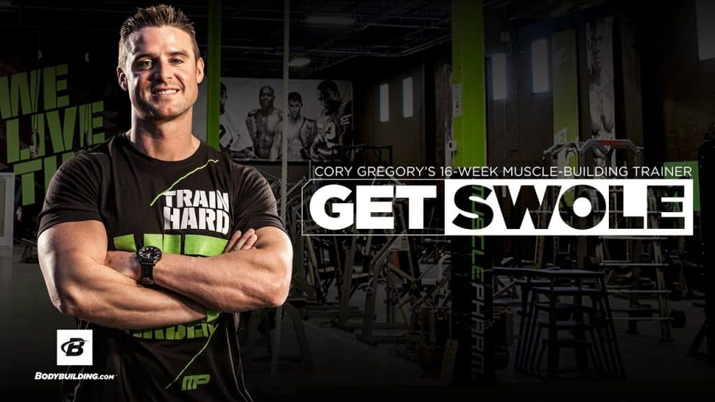 Cory Gregory Get Swole Workout Program
