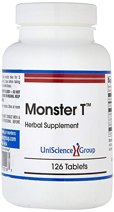 Monster T testosterone booster with stinging nettle