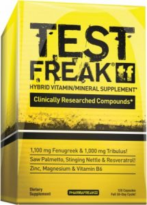 Test Freak testosterone booster from PharmaFreak