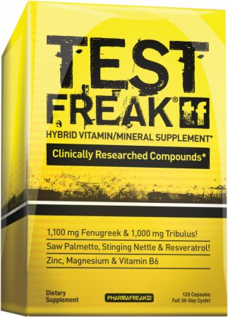 Test Freak testosterone booster from PharmaFreak