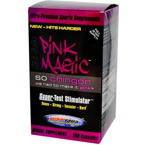 Pink Magic Testosterone Booster from USP Labs