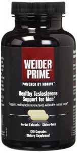 testosterone boosting by Weider Prime