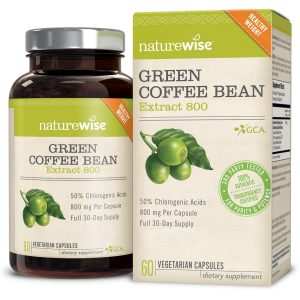 NatureWise Green Coffee Bean Extract supplement