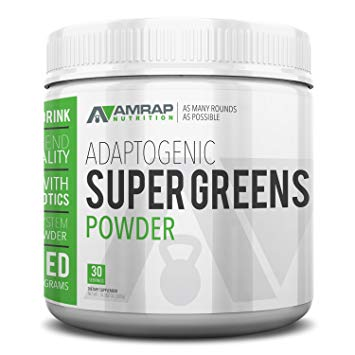 Supergreens Powder from AMRAP Nutrition