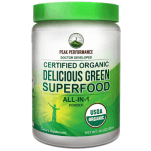 Green Superfood from Peak Performance