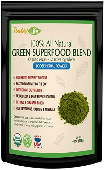 Green Superfood Powder from Teatox Life